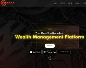 Exxa - cryptocurrency wallet reviews with a yield of up to 19% per month
